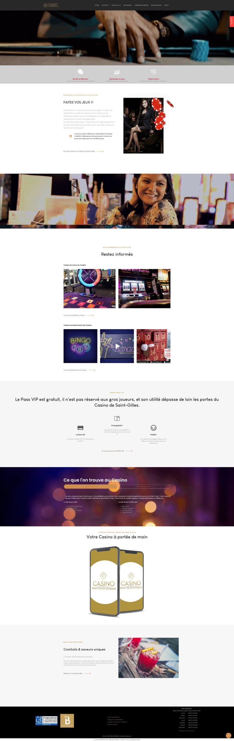 Casino Site web