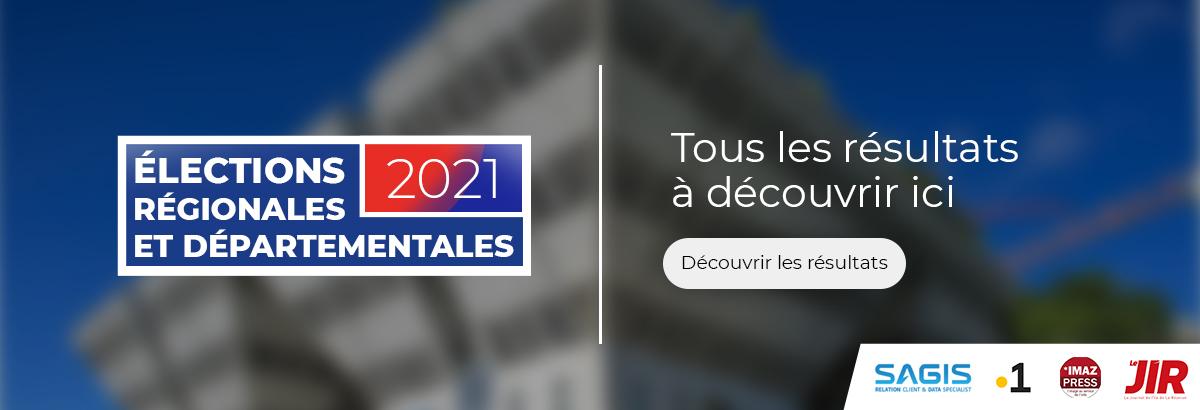 Résultats elections Réunion
